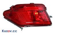 Фонарь задний для Toyota RAV4 2013 - 2015 правый, в бампер (DEPO)