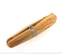 Держатель колец деревянный, с клином