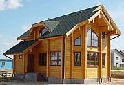 Строительство дома из профилированного бруса