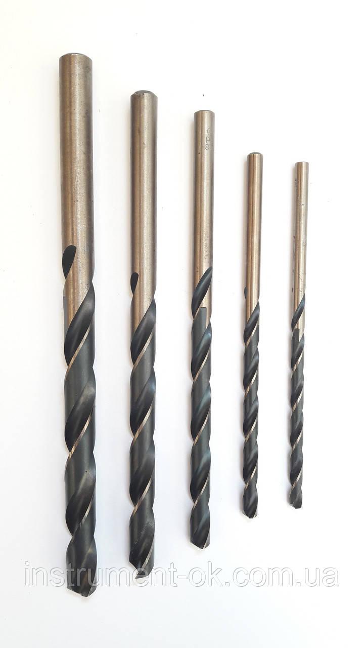 Сверло по металлу Р9 d 6 мм удлинённое