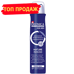Антиперспирант Deonica for men Nature Protection 200 мл (спрей)