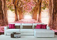 Дизайнерские фотообои Весенний лес
