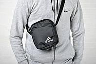 Месенджер, борсетка Adidas белый лого