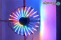 Светодиодная сфера/полусфера AS-1,  720мм, 24 луча, 32пикс/луч