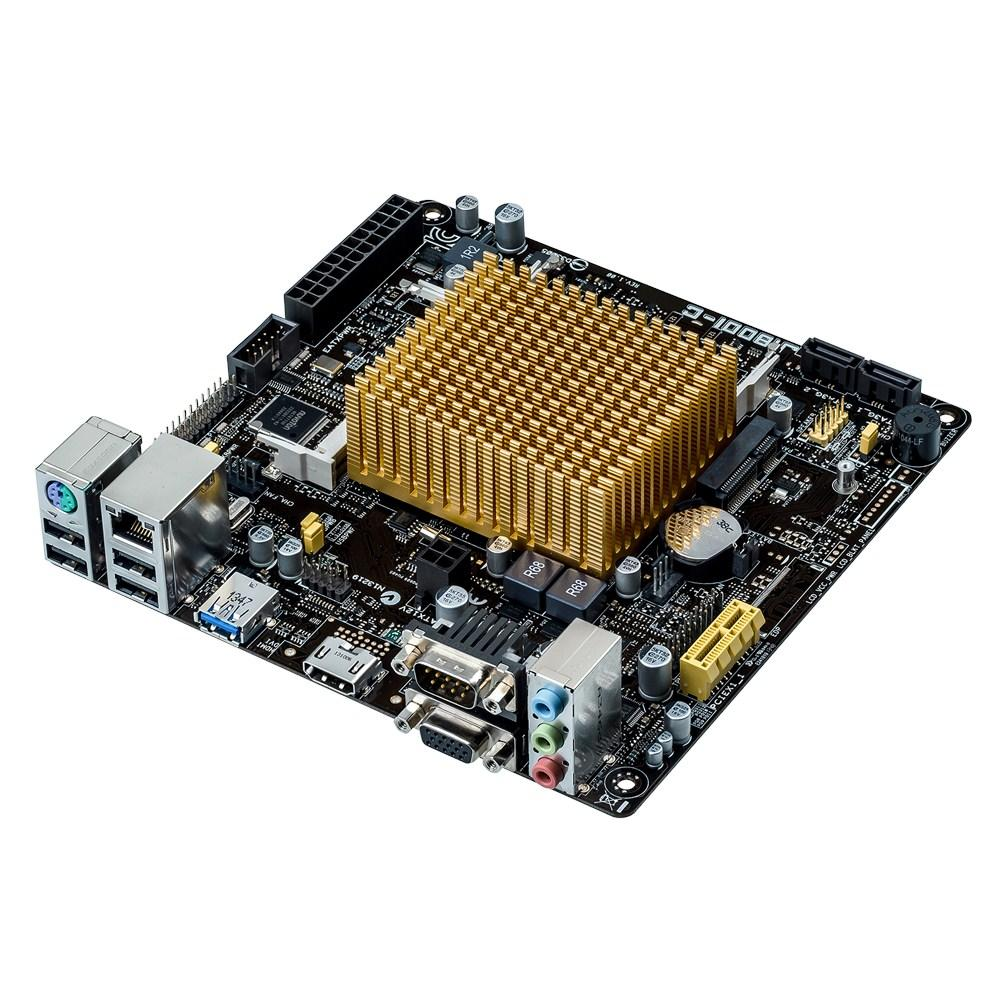 Мат. плата Asus J1800I-C Mini ITX - интернет-магазин электроники mobshop.com.ua в Харькове