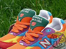 Женские кроссовки New Balance 993 USA Multicolor WR993WM Размер 36, фото 2