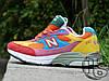 Женские кроссовки реплика New Balance 993 USA Multicolor WR993WM. Любимые кроссовки Джобса, фото 5