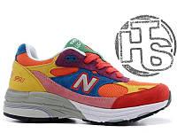 Женские кроссовки New Balance 993 USA Multicolor WR993WM. Любимые кроссовки Джобса