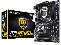 Мат. плата Gigabyte GA-Z170-HD3 DDR3 Socket 1151