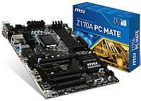 Мат. плата MSI Z170A PC MATE Socket 1151