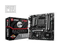 Мат. плата MSI B350M BAZOOKA Socket AM4
