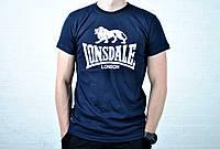 Футболка Lonsdale синяя