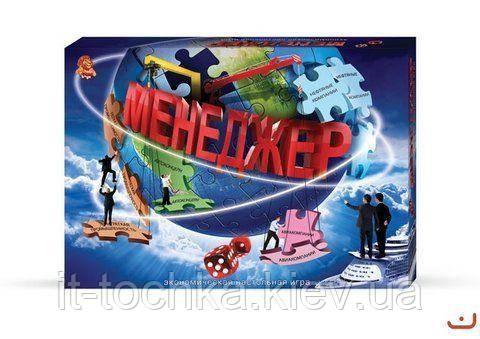 """Гра вел. наст. """"Менеджер"""" (10)укр - IT-точка - магазин удобных покупок для дома и работы в Киеве"""
