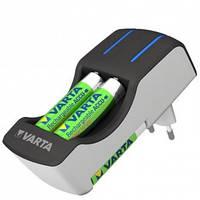 Зарядное устройство varta pocket charger и 2 аккумулятора aa 2100 mah и 2aaa 800 mah ni-mh (57642301431)