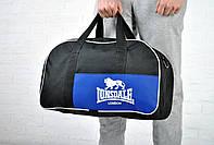 Сумка Lonsdale Duffle bag черная + синий