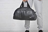 Сумка Nike кож зам бел лого