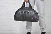 Сумка Nike кож зам роз лого