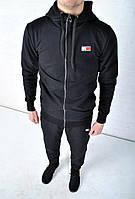 Спортивный костюм Tommy Hilfiger с капюшоном черный