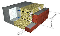 Гибкие связи диаметром 6мм для утепления монолитных зданий