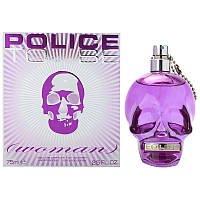 POLICE TO BE WOMAN EDP SPRAY 75 мл