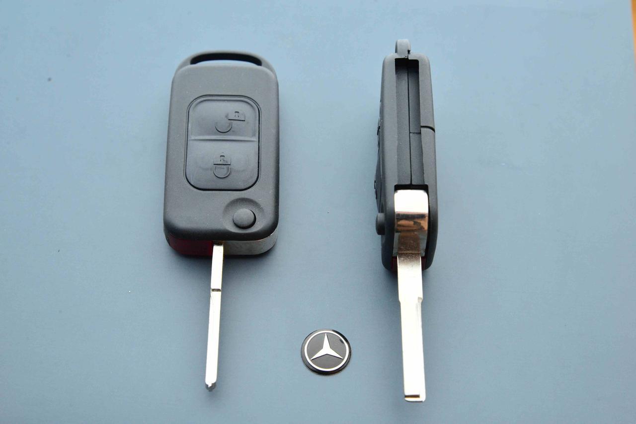 Корпус выкидного авто ключа для MERCEDES W168, A-class (мерседес) 2 -