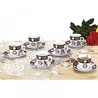 Сервиз чайный ZILLINGER ZL-757B ( Чашки, блюдца, ложки)