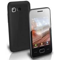 Накладка силиконовая Samsung S5222 Star 3 Duos black