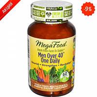 Мультивитамины одна таблетка в день для мужчин после 40 MegaFood 60 шт