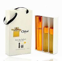 Мини парфюмерия Chloe Eau De Parfum (Хлое О Де Парфюм) с феромонами + 2 запаски, 3x15 мл.