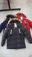 Зимние куртки для мальчиков подростковые GRACE