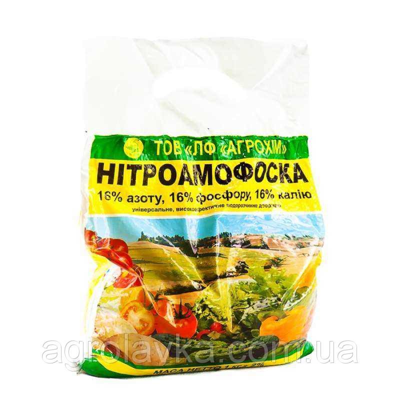 Нитроаммофоска (1кг) - Агролавка - Интернет-магазин в Одессе