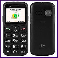 Телефон Fly Ezzy 8 (BLACK). Гарантия в Украине 1 год!