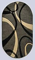 Ковер Melisa 0353 GREY-CREAM oval