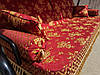 Качель садовая Spring-Swing Barokko Red-Gold, фото 2