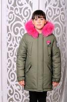 Модная зимняя куртка для девочек