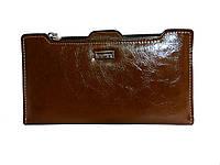 Женский коричневый кошелек WEIAN , фото 1
