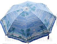 """Зонт """"Пальма"""" без клапана, 2,4 м, для торговли, отдыха на природе (8 спиц, цвета в асс.) DJV /N-51"""