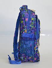 Школьный рюкзак для девочки синий, фото 3