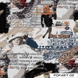 Ткани для штор Поп-Арт 09