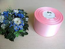 Лента атласная. Ширина 5 см.Цвет розовый