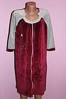 Женский велюровый халат Китти
