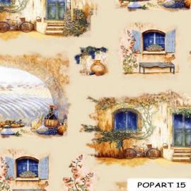 Ткани для штор Поп-Арт 15