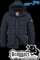 Демисезонная куртка мужская стильная ромбы размеры 48- 56