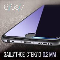 Защитное стекло 2D Tempered Glass для iPhone 6 / 6S / 7
