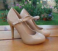 Модные стильные туфли женские р. (36-40), фото 1