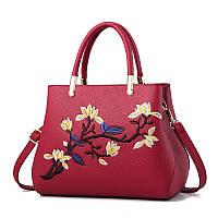 Женская сумка с вышитым узором PM7393