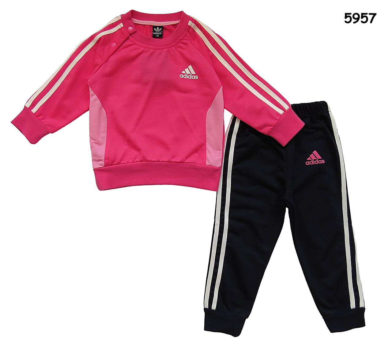 133f83a5b175 Спортивный костюм Adidas для девочки. Маломерит. 130 см