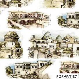 Ткани для штор Поп-Арт 27