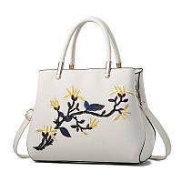 Красивая женская сумка с узором CC7393