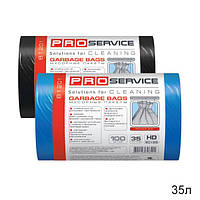 Мешки для мусора 35 л., 30шт/уп. (синие, черные) - ТМ PRO Servis